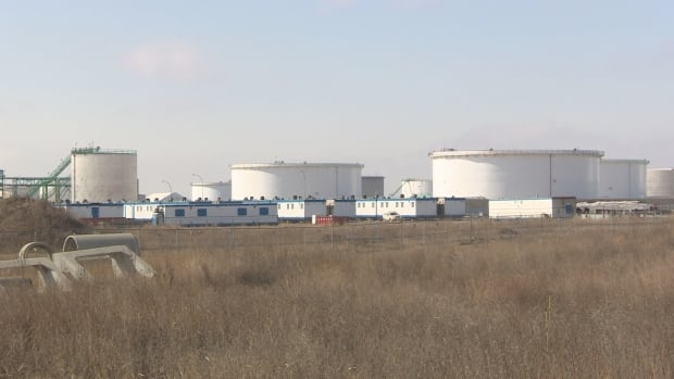 The Co-op refinery confirmed that the trailers were brought in in anticipation of a potential strike or lockout.