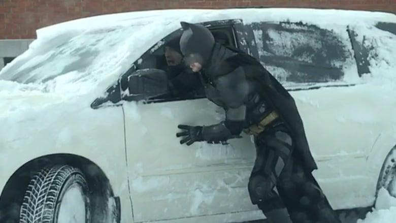 batman snow montreal