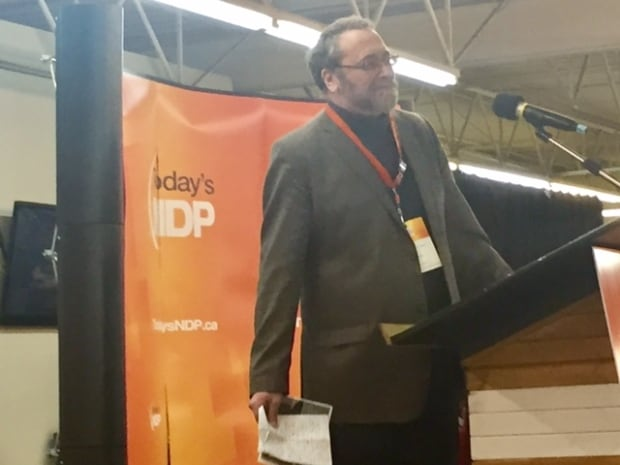 David Woodbury has been elected president of the provincial NDP after serving for several years as a