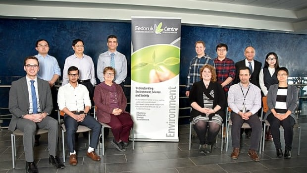The University of Regina researchers seen here will join researchers from the University of Saskatchewan in a project that aims to help develop expertise around building a small nuclear reactor.