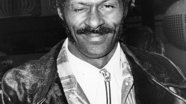 Influential American singer and songwriter Chuck Berry, (1926 - 2017).  Original Publication: People Disc - HA0329