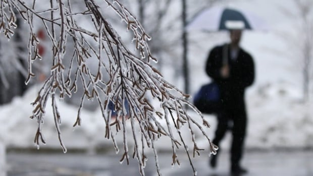 A low-pressure system moving into Nova Scotia on Sunday afternoon will bring snow and freezing rain, an Environment Canada forecast says.
