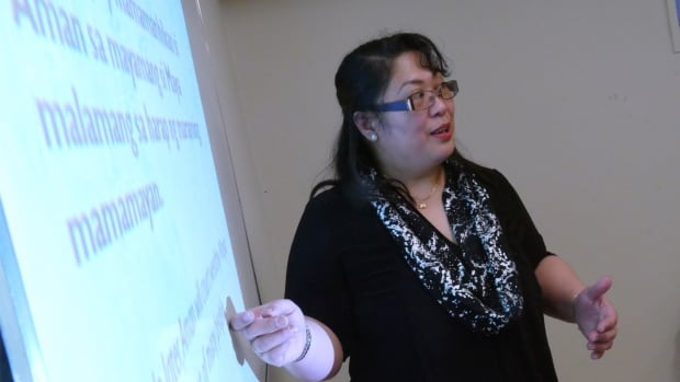 Myla Ignacio was first approached to lead a Tagalog language class in Neepawa, Man., more than two years ago. In January 2017, the first class began.