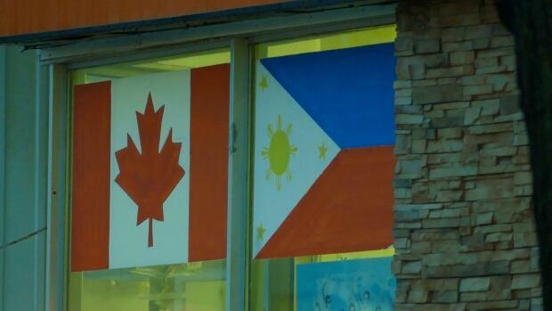 Canada Philippines Flag