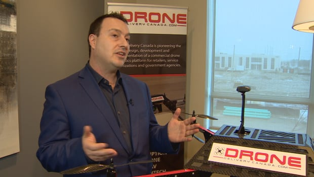 CEO Tony Di Benedetto, who launched the company Drone Delivery Canada in 2014, says remote communities have been neglected for far too long.