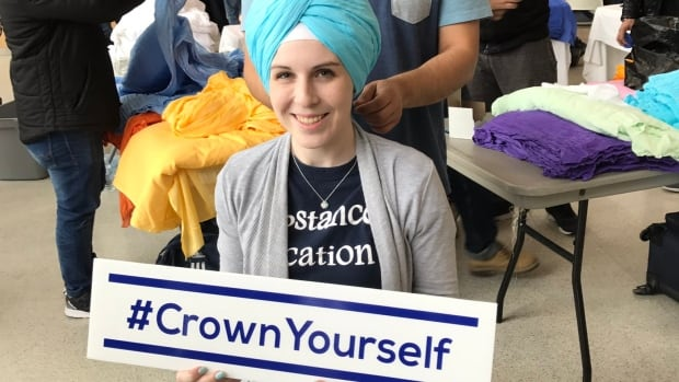 "Sikh Groups are introducing people at the University of Windsor to their culture during an ""Experience the Turban"" event Monday."