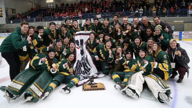 The University of Alberta's Pandas hockey team has won its eighth U SPORTS national championship.