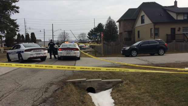 Homicide detectives are investigating after a body was found on Westmount Avenue in Mississauga.