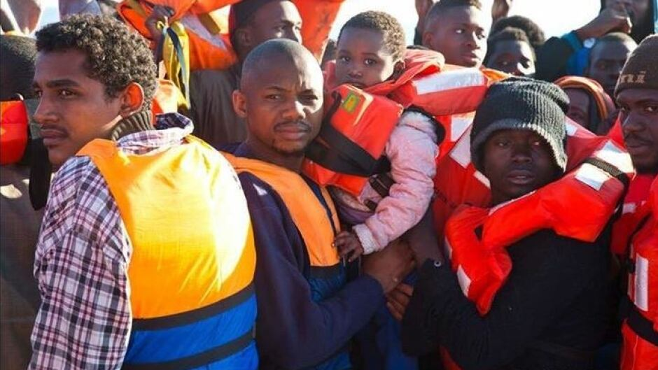 Some 3,000 refugees were rescued over the weekend on the Mediterranean.