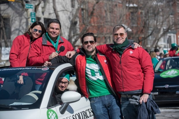 CBC Montreal St. Paddy's parade 2017