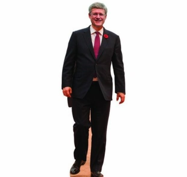 Stephen Harper cut out for sale