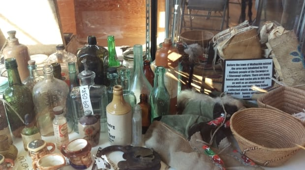 Walhachin museum bottles