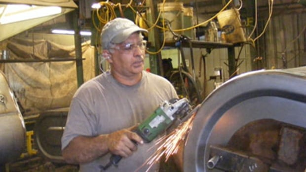 The primary focus at Superior Tanks Ltd. in St. Stephen has been on residential oil tanks.