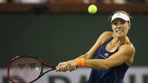 Germany's Angelique Kerber has regained the top spot in the women's rankings.