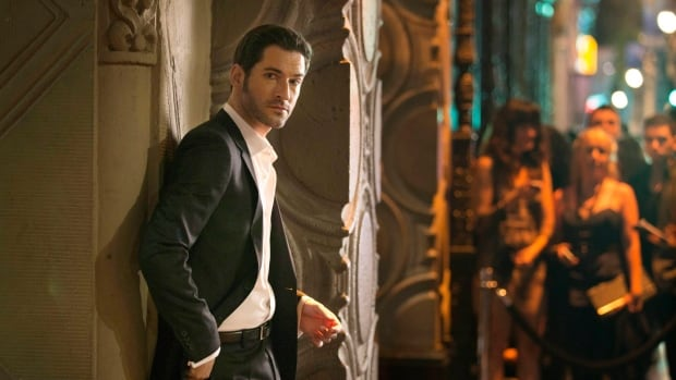 "Tom Ellis in a scene from ""Lucifer.""  The production is currently being filmed in Vancouver but will relocate to California for next season."