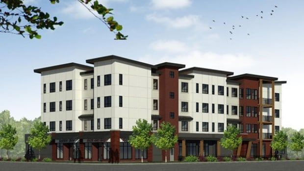 The proposed apartment building would be for men who are at least 90 days sober and in need of safe, supportive housing.