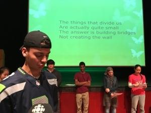 Abdul Tekweiri sheldon williams collegiate racism poetry