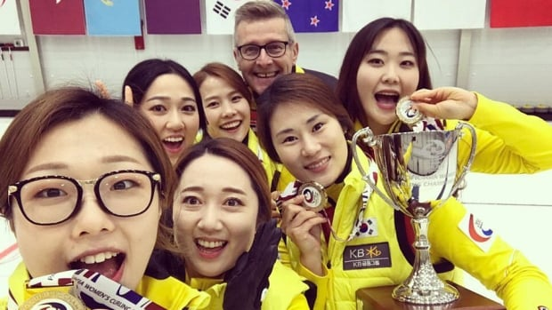 """'If I can get to an Olympic games and help them to possibly medal, who knows? It'd be like a dream come true for me,"""" says coach Peter Gallant of P.E.I. with his South Korea women's curling team."""