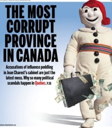 Maclean's Bonhomme cover