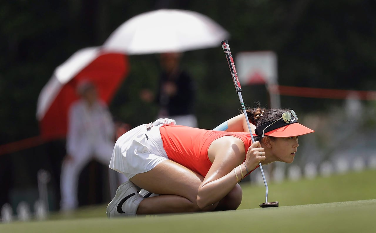 Mini skirts at golf tournaments Pro Golfer Michelle Wie S Outfits Banned From Top B C Greens Cbc News