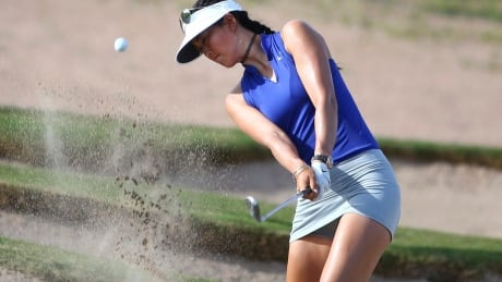 Pro golfer Michelle Wie's risqué short game banned on top B.C. greens, for now