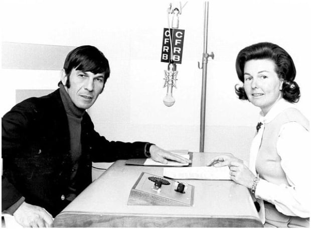Betty Kennedy chats with Leonard Nimoy
