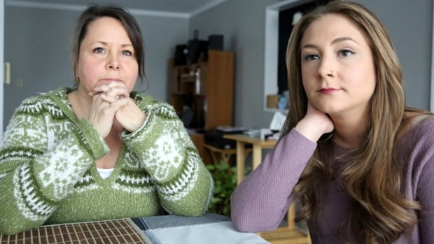 Patty MacLellan and her daughter Holly.