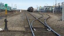 Regina Co-op refinery train tracks