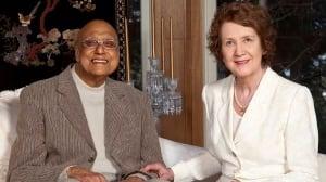 Dr. Rajinder Joneja and wife Janice