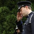 Fallen officer ceremony