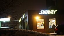 Subway armed robbery Elizabeth Avenue
