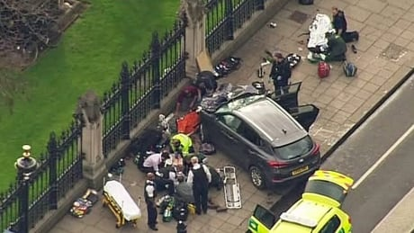london shooting car