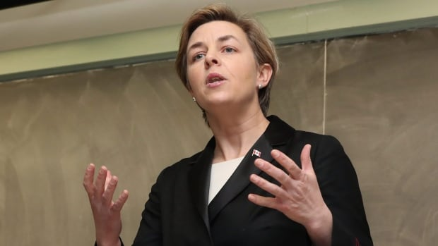 Kellie Leitch has fallen from fourth to fifth in the Conservative Leadership Index.