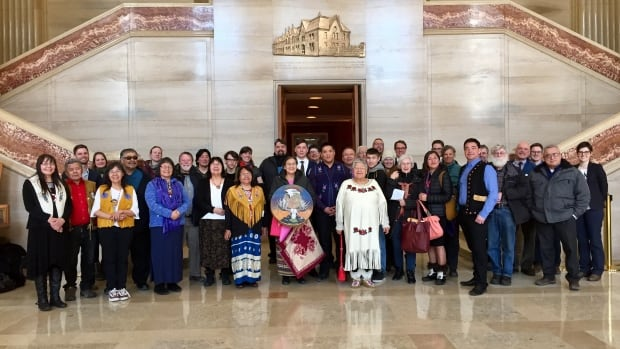 Representatives from the three Yukon First Nations and two environmental groups fighting the case, gathered at the Supreme Court of Canada in Ottawa on Wednesday morning.