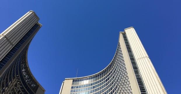 Toronto City Hall Budget Day