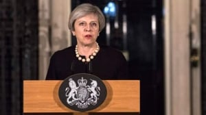 British PM calls London attack 'sick and depraved'