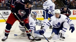 Leafs climb up standings with win over Blue Jackets