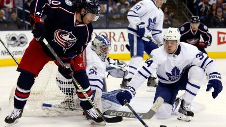Maple Leafs Blue Jackets Hockey