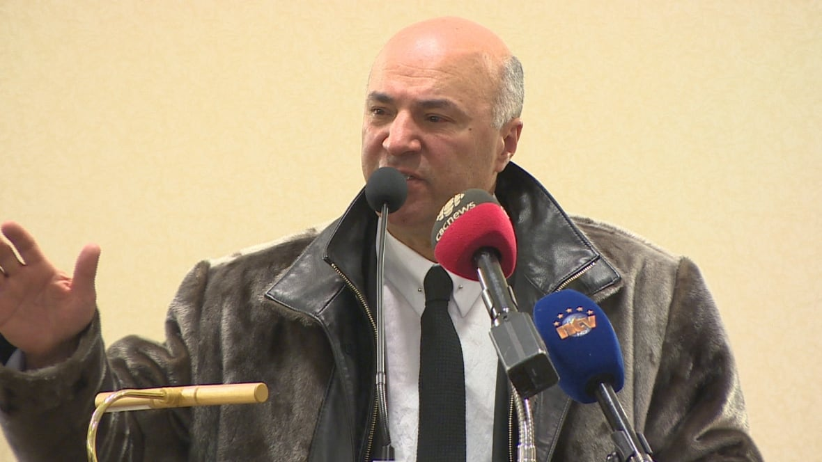 Kevin O'Leary in Newfoundland: Blames 'weak leadership' for stagnant economy