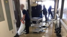 Hull Hospital flooding 2 March 23 cbc