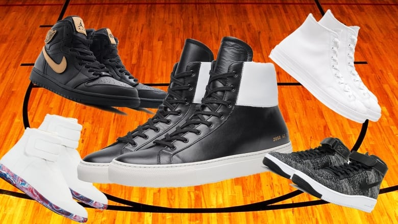 Basketball Hightops Are Definitely The Coolest Footwear Trend And
