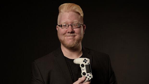 Steve Saylor is a blind gamer in Toronto.