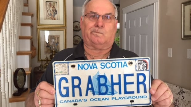 Lorne Grabher said he's had his personalized licence plate for 25 years and it's ridiculous the province has cancelled it.