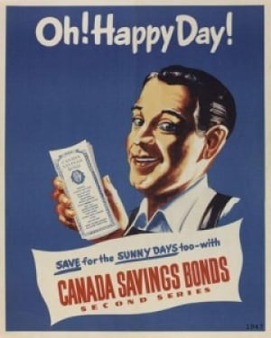 1947 Canada Savings Bonds