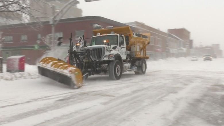 Blizzard plow hook up