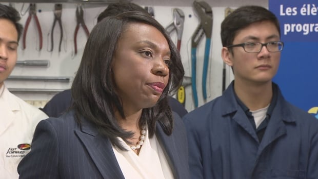 After a fractious Peel District School Board meeting was cleared by police, Education Minister Mitzie Hunter spoke about the importance of respecting religious accommodation in schools.