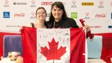 Tijana McCarthy at Special Olympics World Winter Games