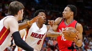 DeRozan's second straight 40-pt game lifts Raptors over Heat