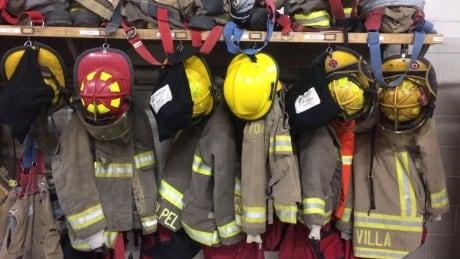 Sudbury fire gear