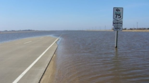 Highway 75 closed